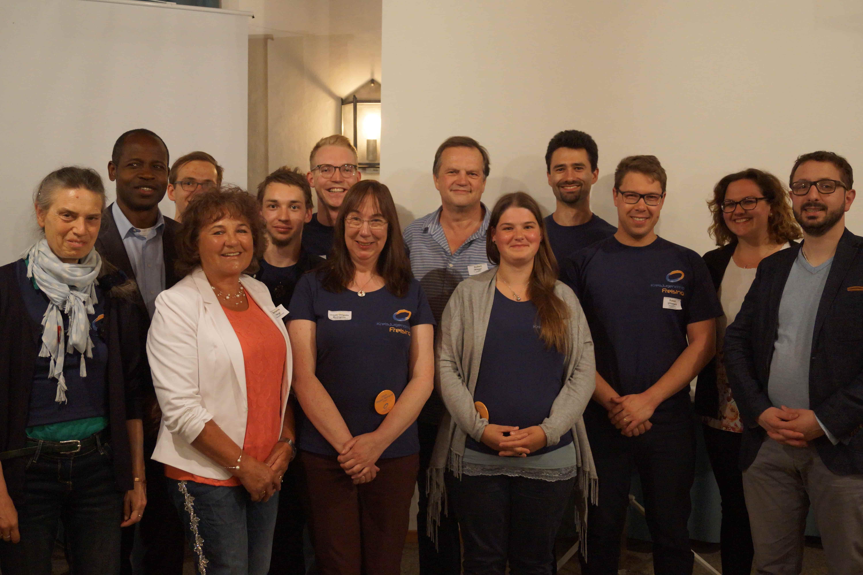 Kreisjugendring Freising - unser Vorstand mit Freien Persönlichkeiten